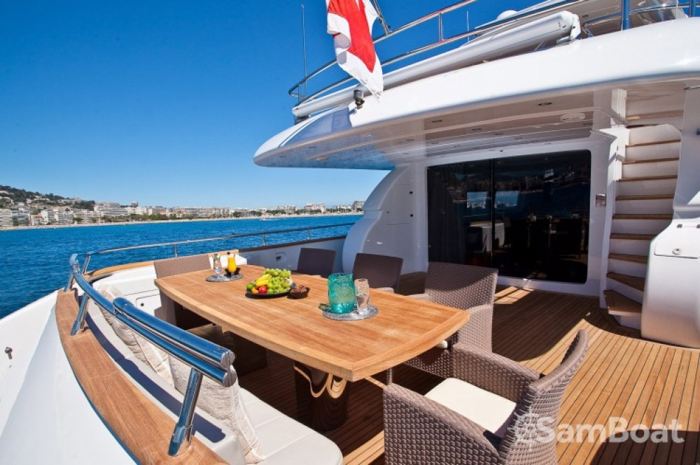 "Boat rental Cannes cheap 28.70 metres (94' 2"")"