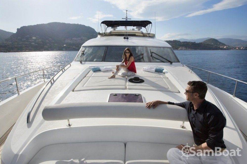 Yacht for rent Antibes at the best price