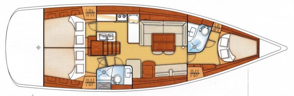 Boat rental Bénéteau Oceanis 46 in Morlaix on Samboat