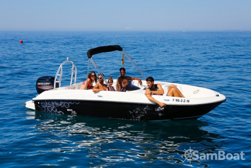 Rental yacht Puerto Deportivo de Marbella - Bayliner Element on SamBoat