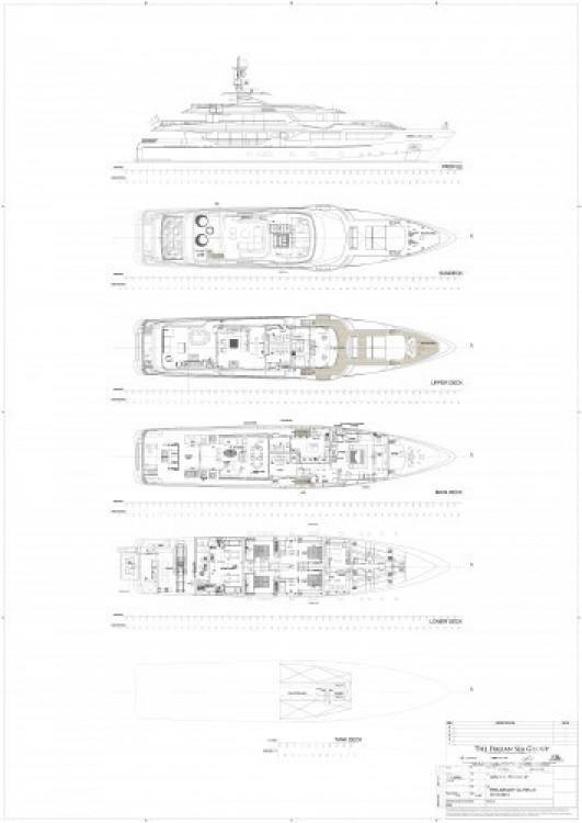 "Boat rental Admiral 46.55 metres (152' 9"") in  on Samboat"