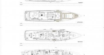 """Boat rental Monaco cheap 46.55 metres (152' 9"""")"""