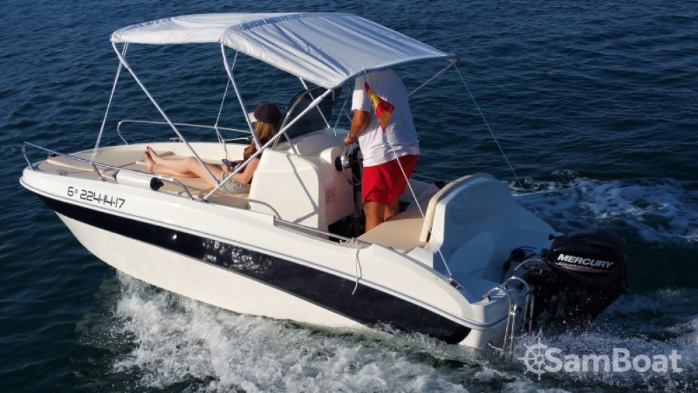 Boat rental Remus 450 OPEN in Real Club Náutico on Samboat