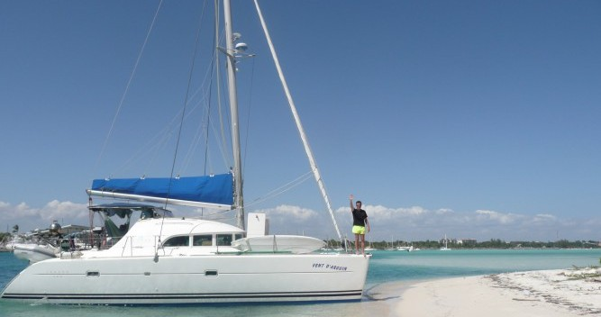 Hire Catamaran with or without skipper Lagoon Le Marin