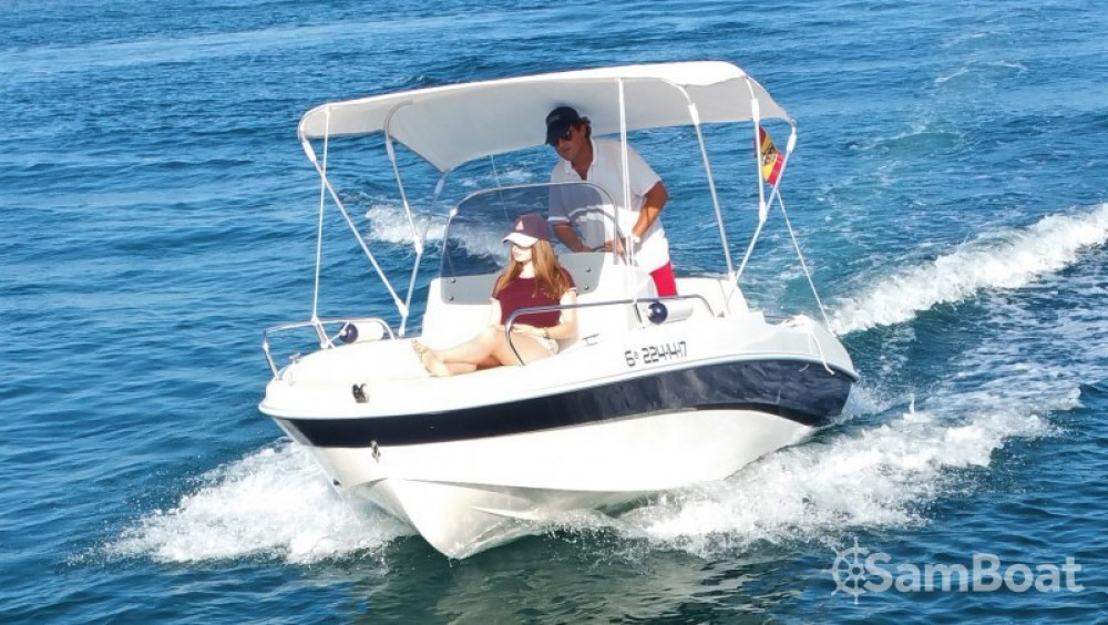 Hire Motorboat with or without skipper Remus Torrevieja