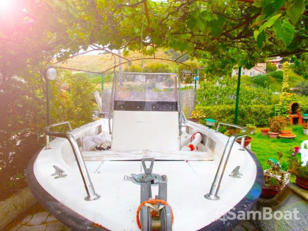 Boat rental Scalea cheap brezza 560
