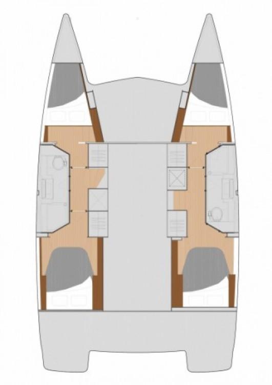 Rental yacht Croatia - Fountaine Pajot Lucia 40 on SamBoat