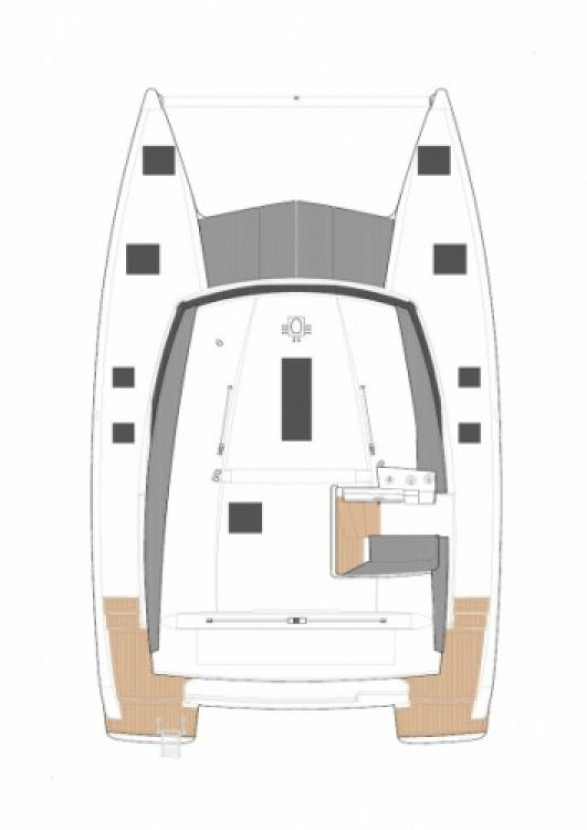 Rental Catamaran in Croatia - Fountaine Pajot Lucia 40