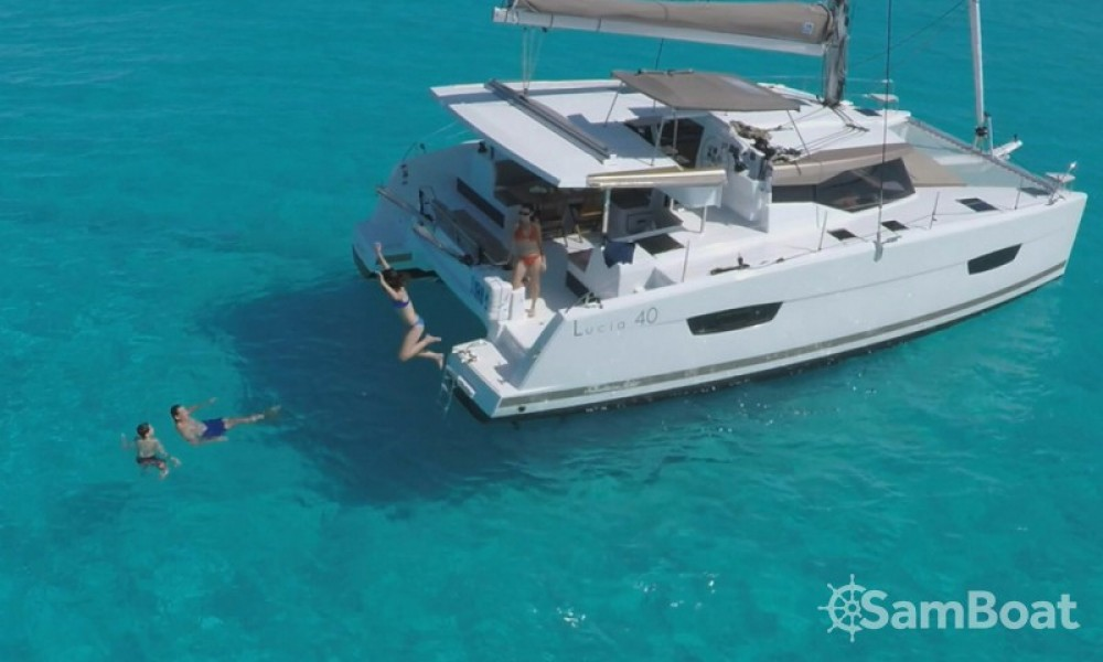 Fountaine Pajot Lucia 40 between personal and professional Croatia