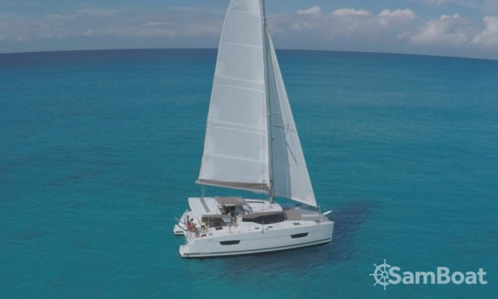 Boat rental Croatia cheap Lucia 40