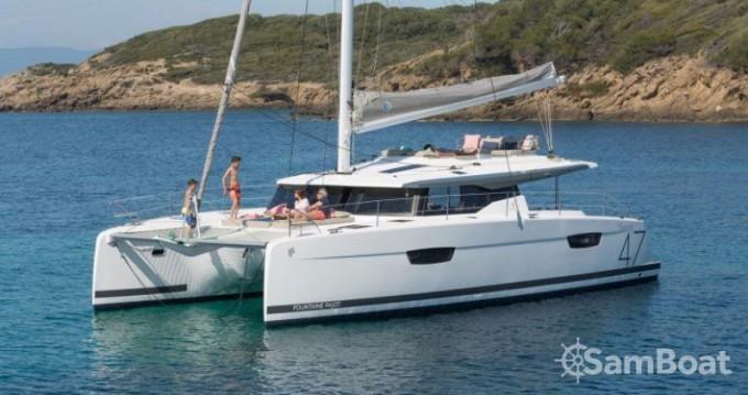 Boat rental Trogir cheap Saona 47