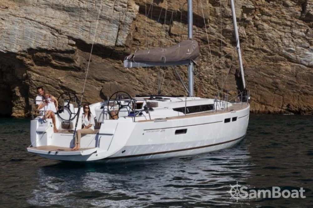 Boat rental Seget Donji cheap Sun Odyssey 479