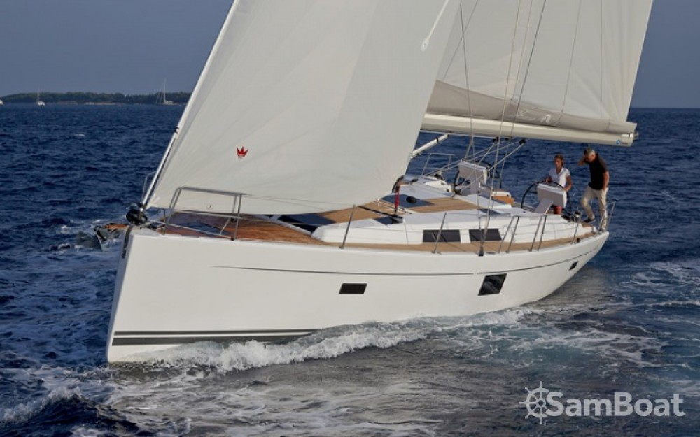 Boat rental Croatia cheap Hanse 455