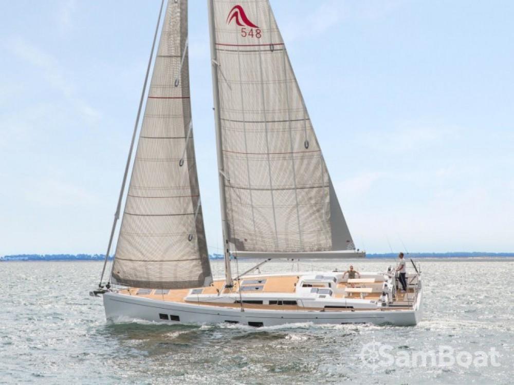 Rental Sailboat in Croacia - Hanse Hanse 548