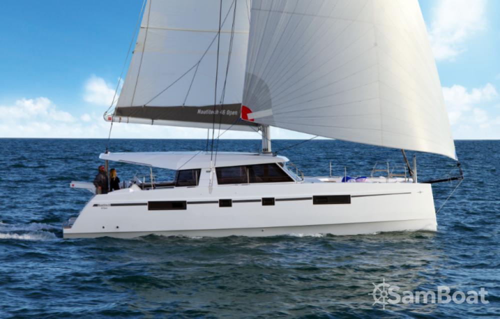 Boat rental Lávrio cheap Nautitech 46