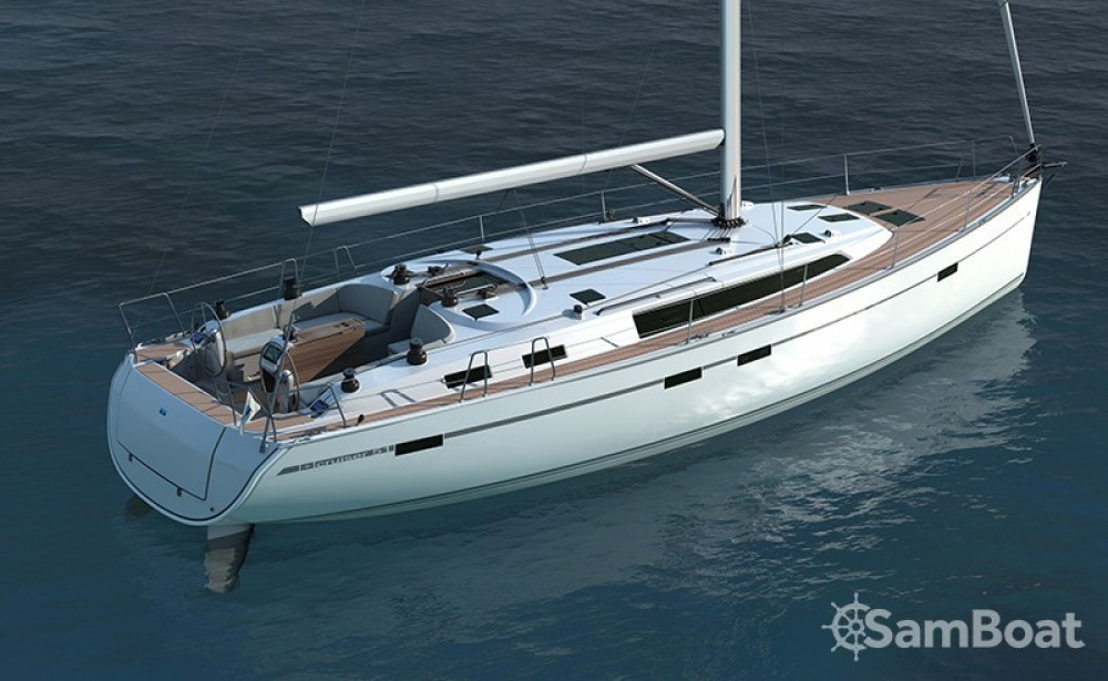 Bavaria Cruiser 51 between personal and professional Corfou