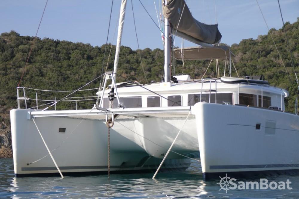 Rental Catamaran in Solenzara - Lagoon Lagoon 450
