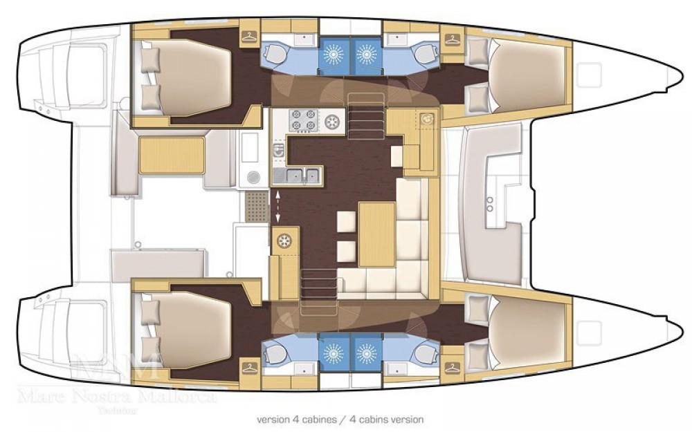 Catamaran for rent Solenzara at the best price