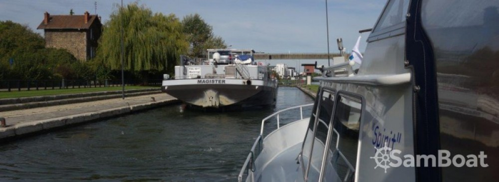 Hire Canal boat with or without skipper Scheepswerf-De-Groot-Arkel Draveil