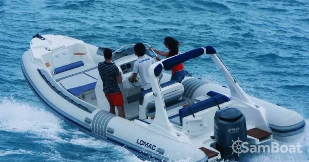 Hire RIB with or without skipper Lomac Ajaccio