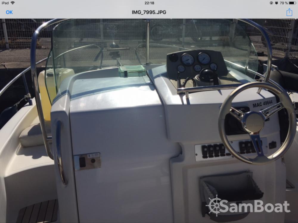 Rental Motor boat in Marseille - Sessa Marine Key Largo 22 Deck
