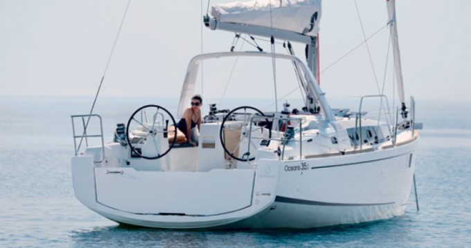 Bénéteau Oceanis 35.1 between personal and professional Trapani