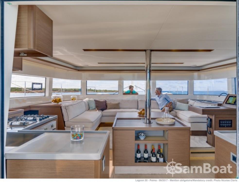 Rental yacht Grimaud - Lagoon Lagoon 50 on SamBoat
