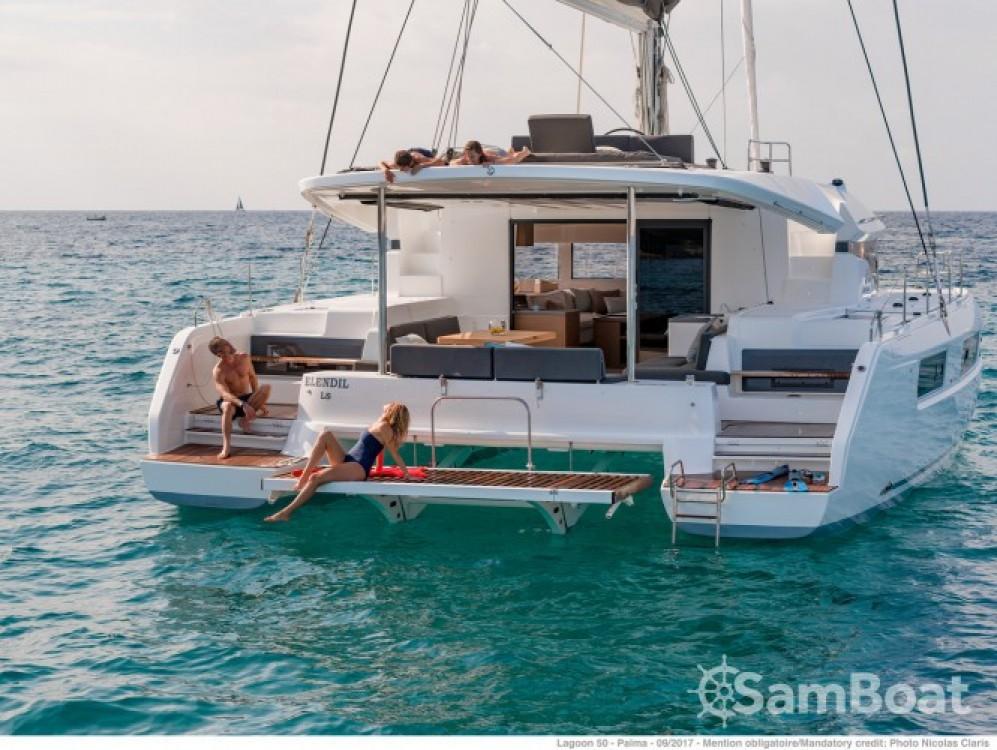 Catamaran for rent Grimaud at the best price