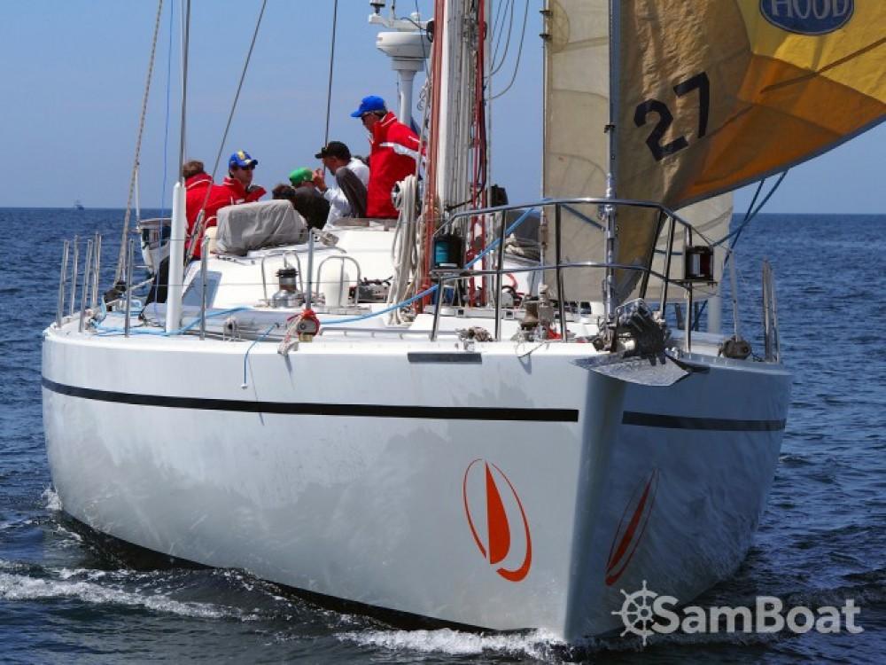 Boat rental Lorient cheap Challenge 67