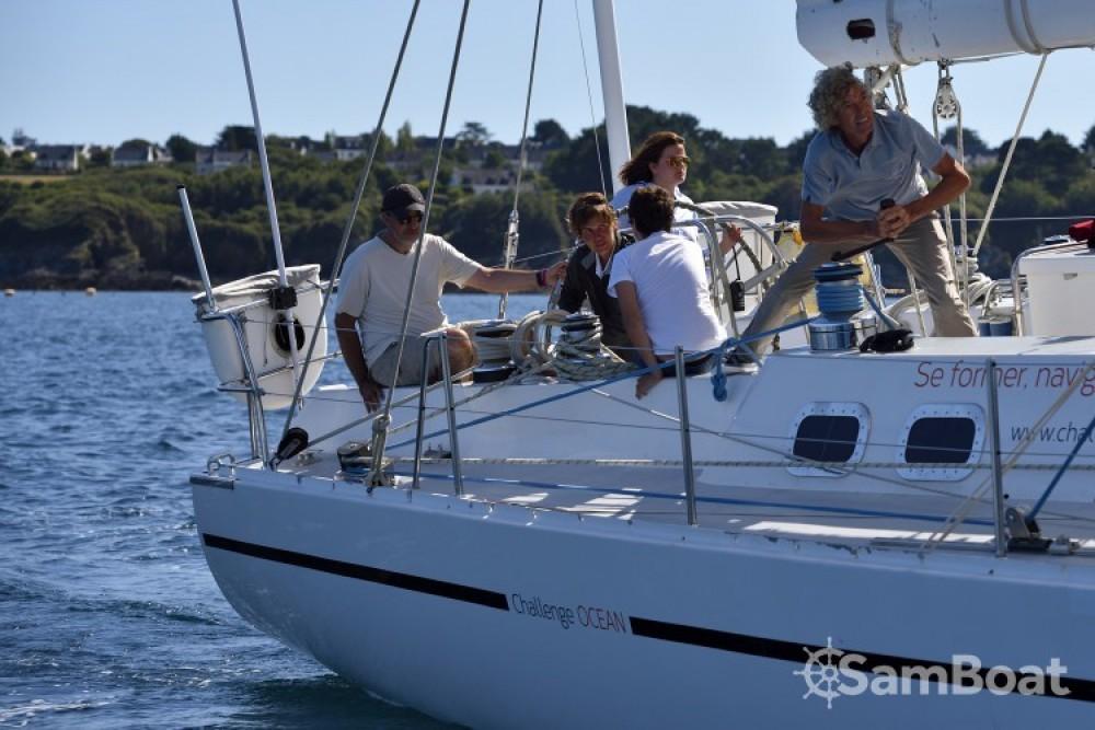 Devonport-Yachts-Ltd Challenge 67 between personal and professional Lorient