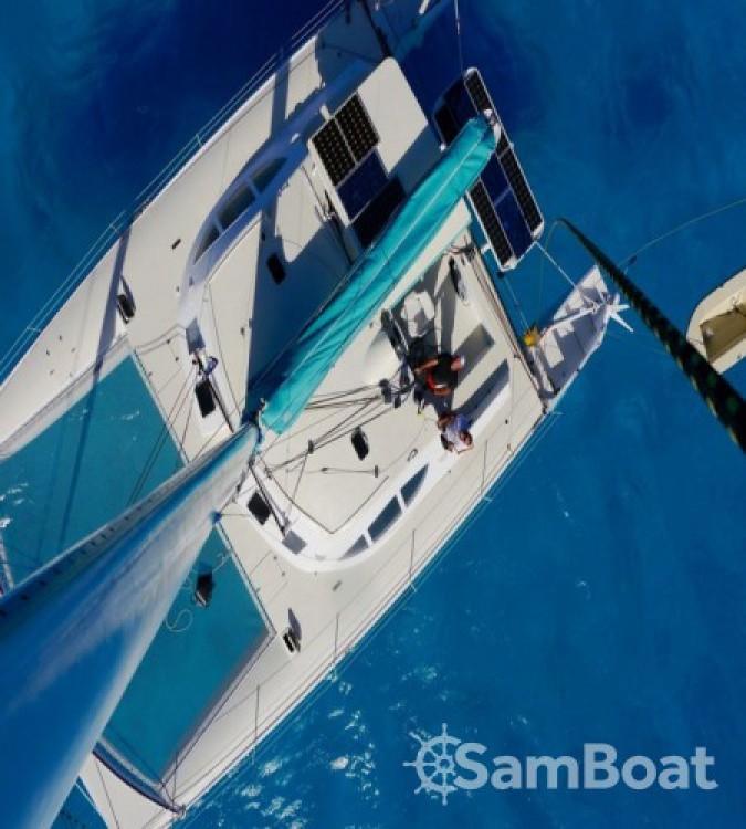 Rental Catamaran Looping 50 with a permit