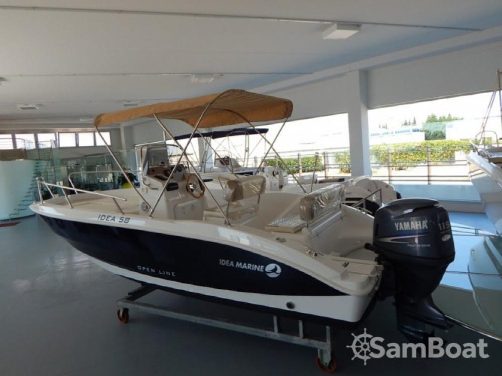 Rental Motor boat Idea Marine with a permit