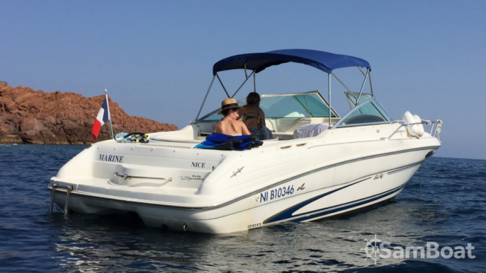 Rental Motor boat in Mandelieu-la-Napoule - Sea Ray Sea Ray 260