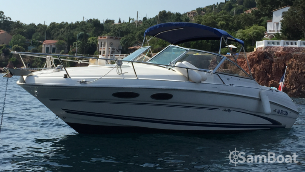 Sea Ray Sea Ray 260 between personal and professional Mandelieu-la-Napoule