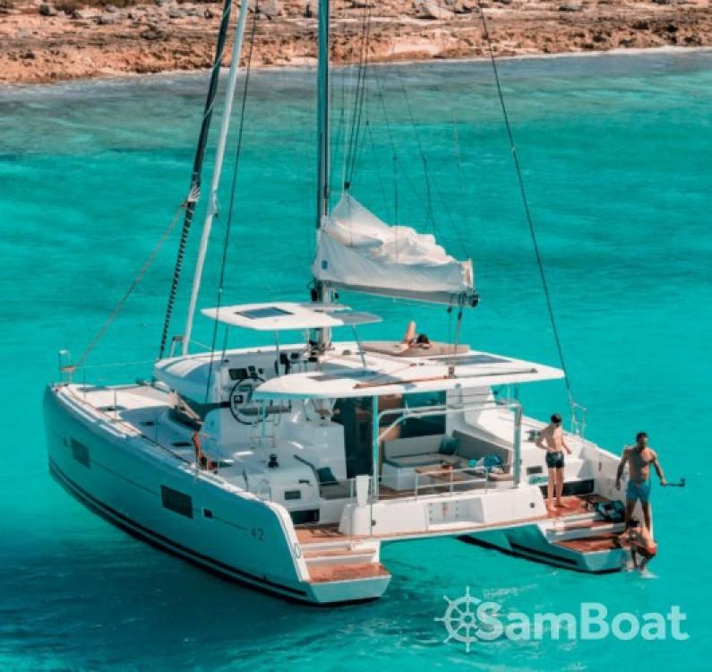 Boat rental  cheap Lagoon 42