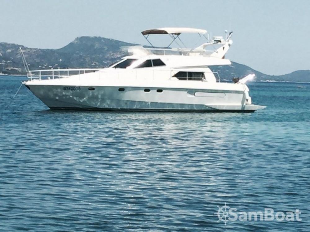 Rental yacht  - Ferreti 145 Fly on SamBoat