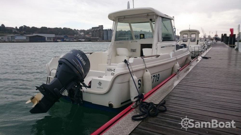 Boat rental Dieppe cheap merry fisher