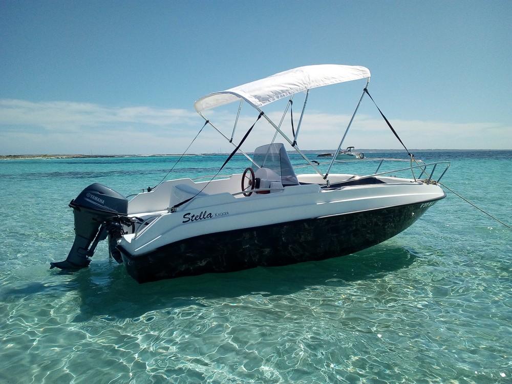Rental Motorboat in la Savina - Stella-Kruger Kruger 470