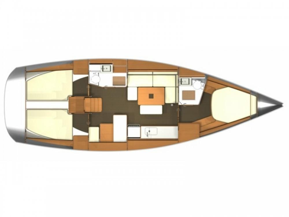 Rental yacht Piombino - Dufour Dufour 405 on SamBoat