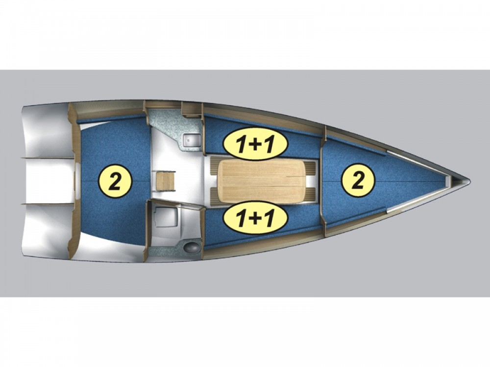 Boat rental Northman Maxus 28 Standard in Węgorzewo on Samboat