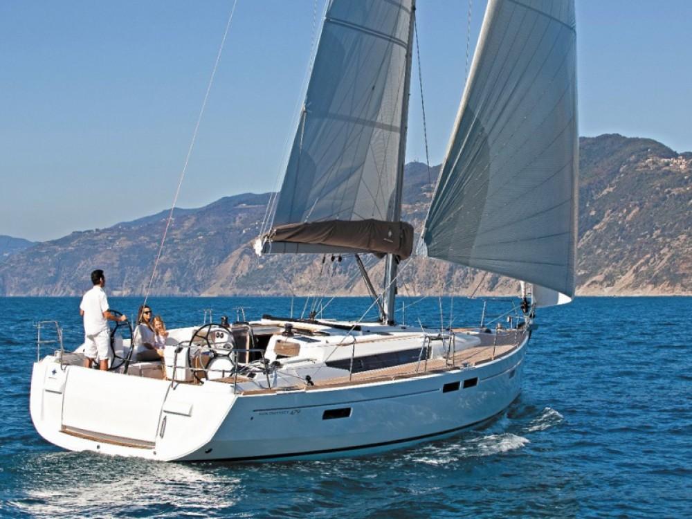Jeanneau Sun Odyssey 519 between personal and professional Palma de Majorque