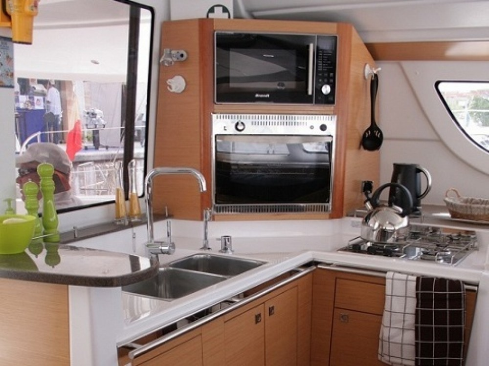 Fountaine Pajot Lipari 41 between personal and professional Tivat