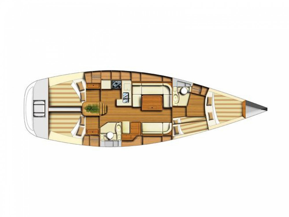Hire Sailboat with or without skipper Dufour Tivat