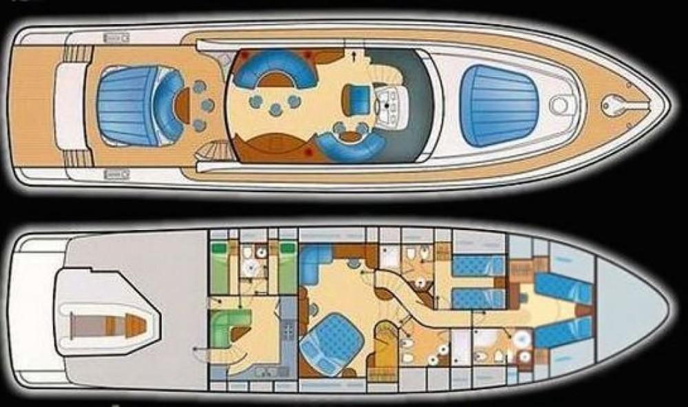 Boat rental Ibiza cheap Alfamarine 78