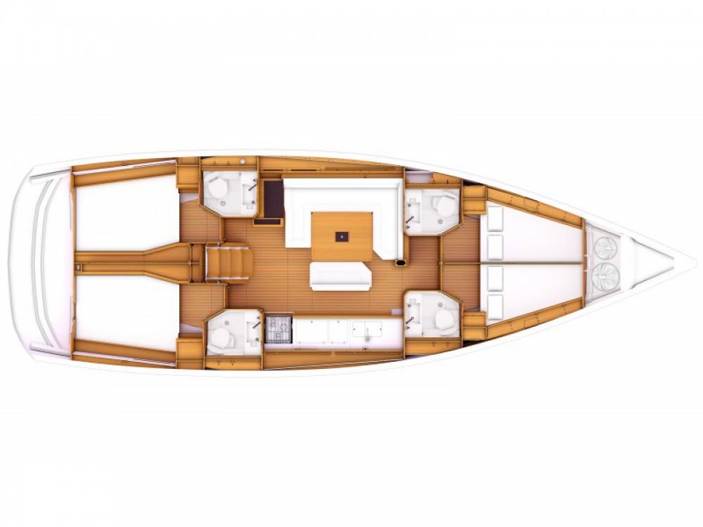 Rental yacht Orhaniye Mahallesi - Jeanneau Sun Odyssey 479 on SamBoat