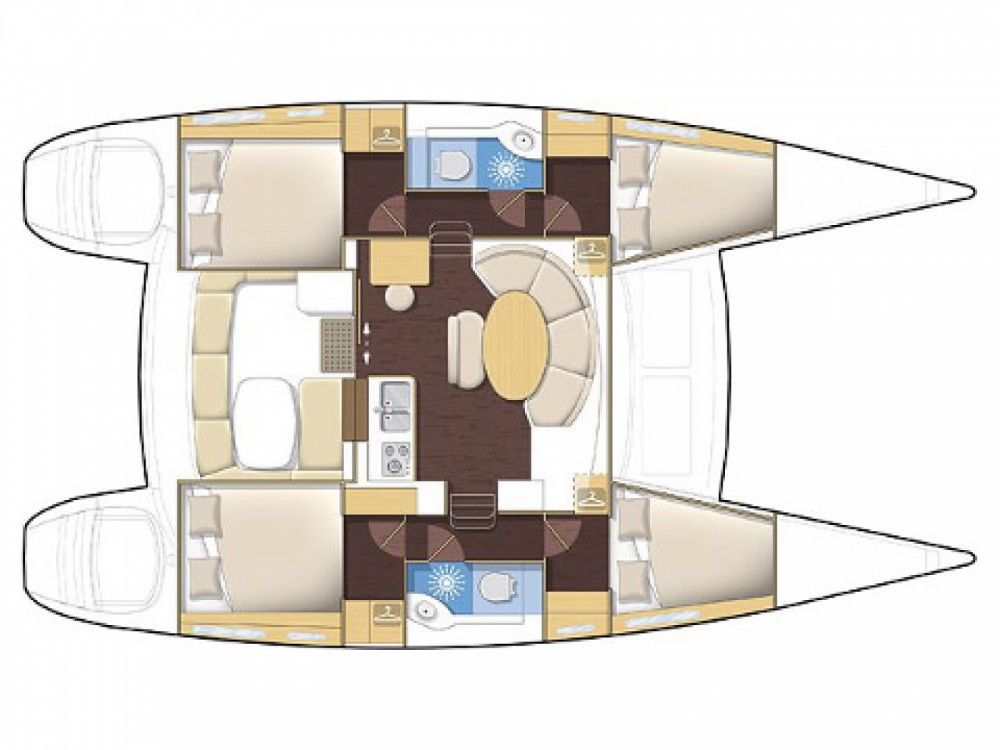 Catamaran for rent Marsala Marina at the best price