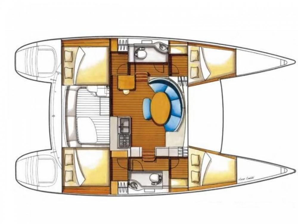 Rental Catamaran in Marsala Marina - Lagoon Lagoon 380