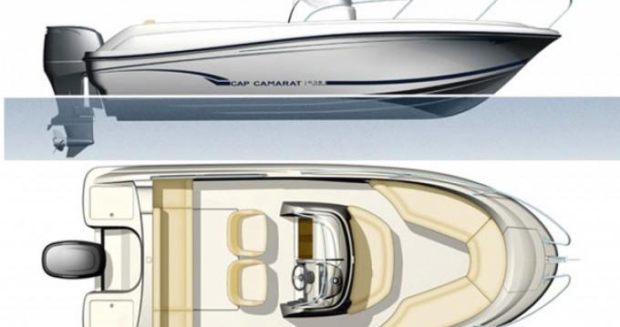 Rental yacht Okrug Gornji - Jeanneau Cap Camarat 635 Cc on SamBoat