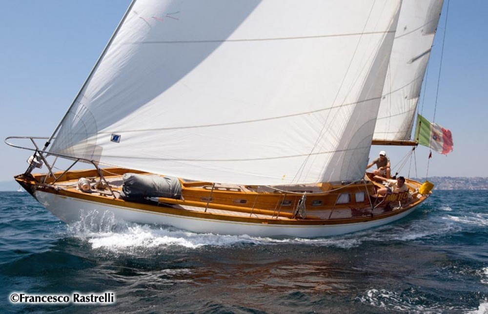 Rental yacht Porto-Vecchio - Sparkman And Stephens Cutter on SamBoat