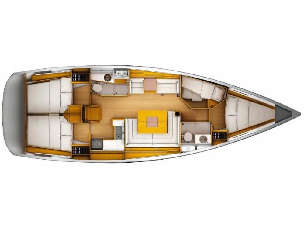 Rent a Jeanneau Sun Odyssey 449 Marina d'Arechi